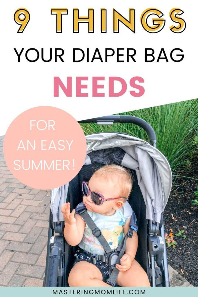 Smart Summer Diaper Bag Essentials