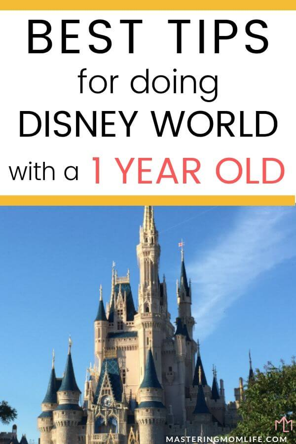Tips for Doing Disney with a one year old