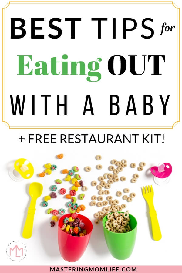Best tips for eating out with a baby