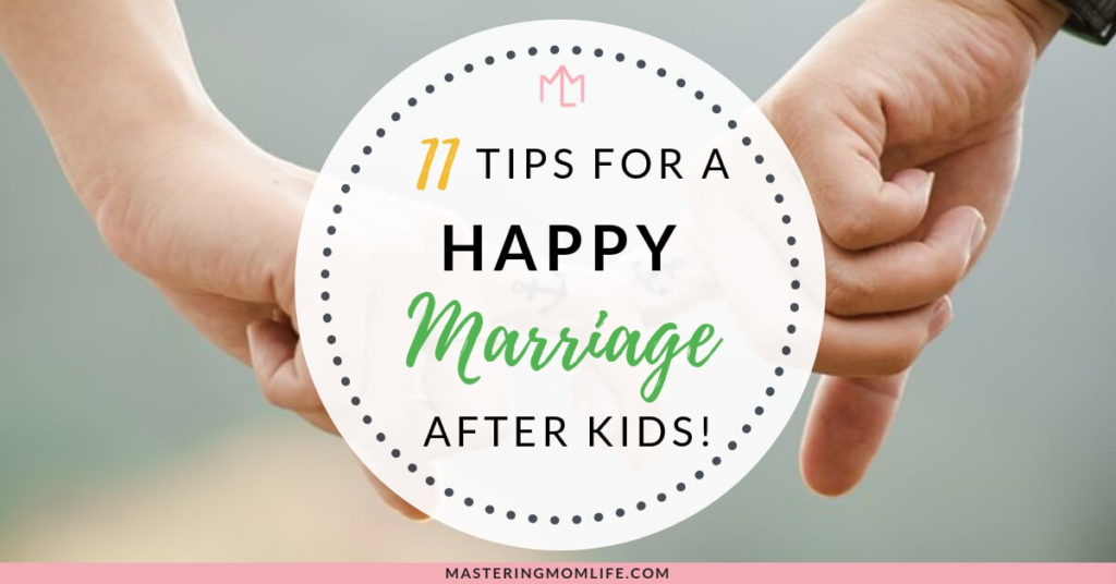 11 Tips for a Happy Marriage After Baby