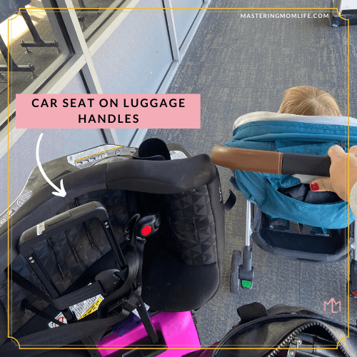 Traveling with toddler alone and bags