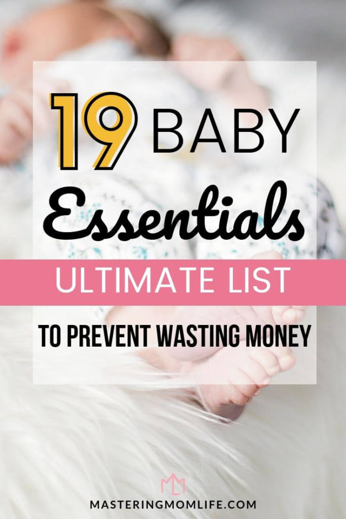 19 Baby Essentials: The Ultimate List to help you prevent wasting money| Image of baby
