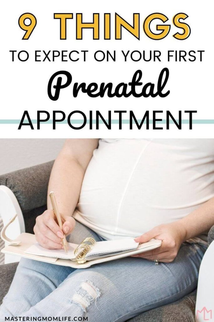 9 Things to expect on your first prenatal appointment