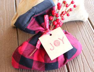 DIY Reusable Gift Sack